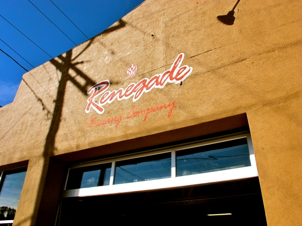 Renegade Brewing Company is located in the Santa Fe Arts district of Denver.