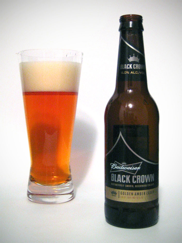 Drink this not that budweiser black crown bitch beer - Budweiser beer pictures ...