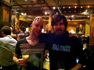 Brian Strumke of Stillwater Brewing & Jeppe Jarnit-Bjergsø of Evil Twin
