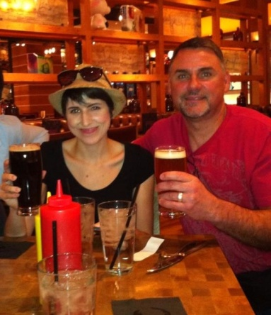 Me and Dad w/ Beers