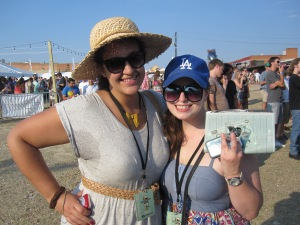 We had a great time, despite the pit sweat inducing heat