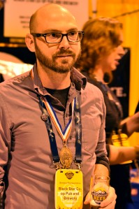 Blackstar Co-Op Head Brewers Jeff Young's Elba took the Bronze in the Herb and Spice category.