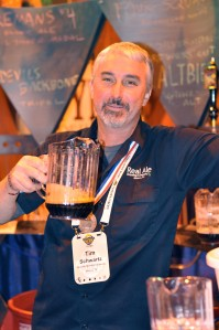 When does Tim Schwartz not leave GABF without a medal?